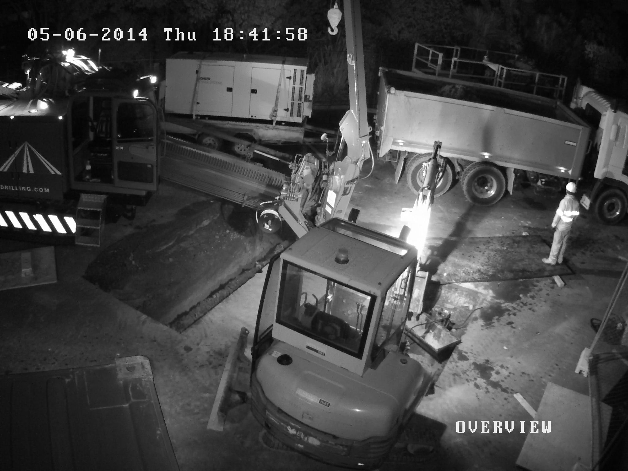 construction site cctv