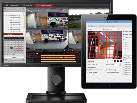 Hikvision software and ipad